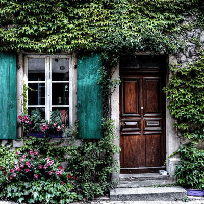 Fensterläden aus Holz